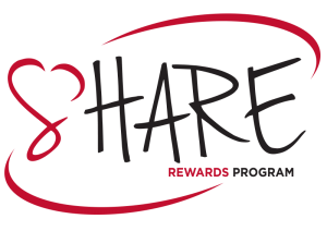 Share Rewards Program logo